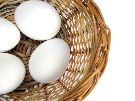 all in one:           Dont keep all eggs in one basket-Eggs in a basket