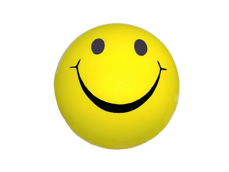 image of a yellow ball with Smiley face
