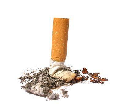 No Smoking -Put off cigarette