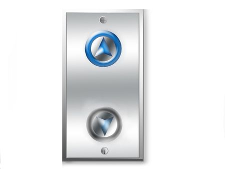 Going up-elevator panel-conceptual