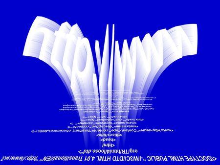 http,web address against html,Script code. Programm code Stock Photo - 3973386