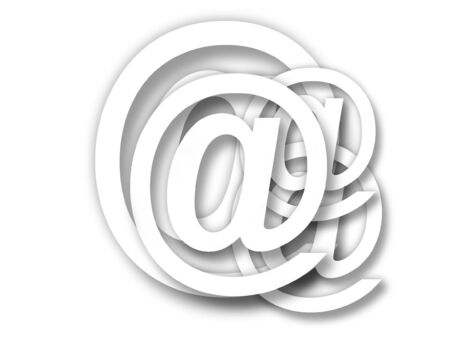 electronically: emai-sign of email