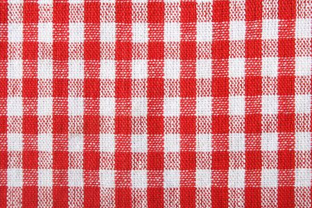 Red and white pattern Stock Photo