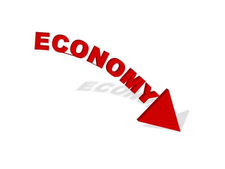 uncontrollable: economy falling downward