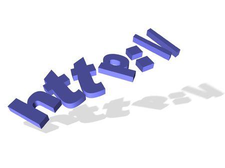 http-internet concept Stock Photo - 9762639