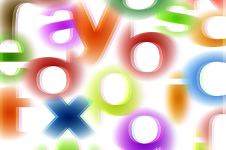Alphabets Background Stock Photo - 9763130