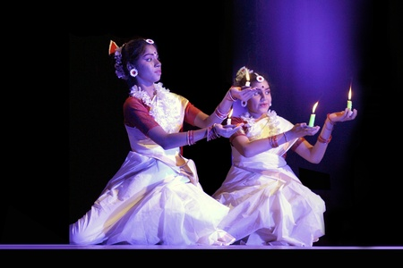 solo form: .Hyderabad,AP,India-February 02,2012- 25-hour-long dance marathon aimed at creating a Guinness record  at the Ravindra Bharati -Almost 125 artists from seven countries India, France, Belgium, Nepal, Japan and Sri Lanka participated in Rabindra Nrityotsav. Editorial
