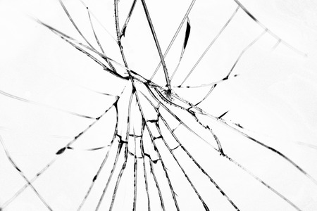 demolished: Broken glass