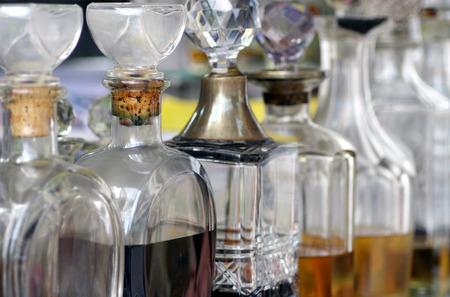 香水瓶 写真素材