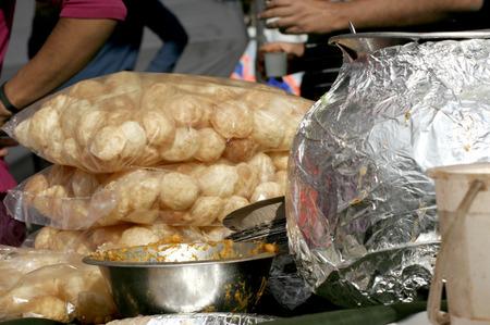 Indian street food photo