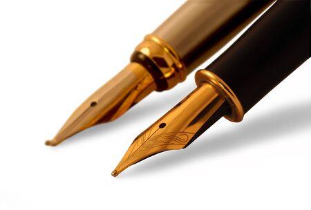 孤立した万年筆