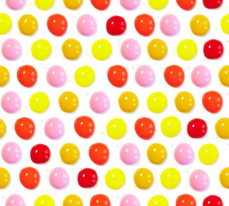 Ilustración vectorial Patrón sin fisuras de gotas de volumen de acuarela de colores Foto de archivo - 88359711