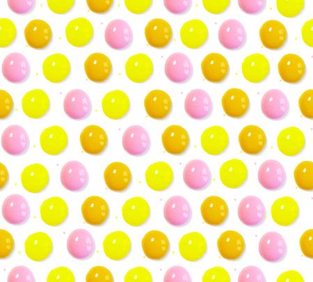 Ilustración vectorial Patrón sin fisuras de gotas de volumen de acuarela de colores Foto de archivo - 88359712