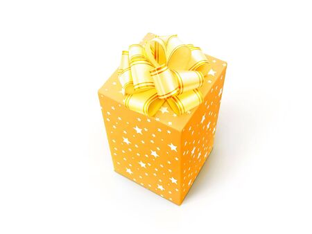 Gift - box with bow  photo