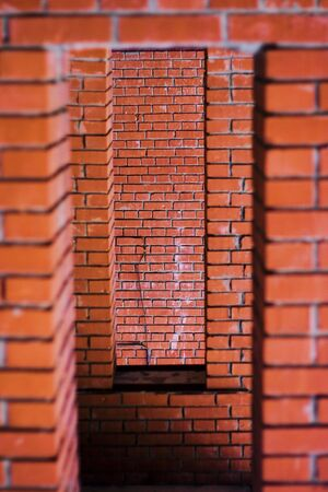 embrasure: brick embrasure, brick arch