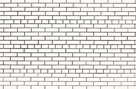 building feature: white brick wall