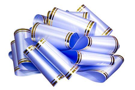 blue bow Stock Photo - 3347697