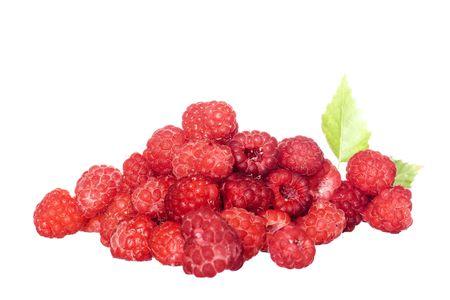 Heap of Raspberries  photo