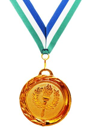 gold medal photo