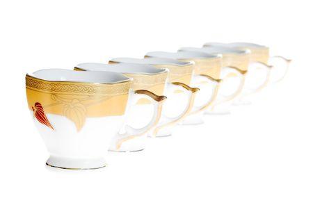 Cups row photo
