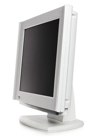 monitor isolated on white Stock Photo - 3949618