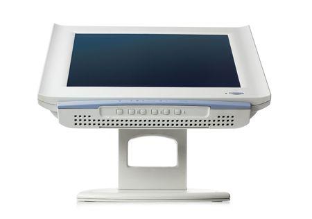 monitor isolated on white Stock Photo - 3949611