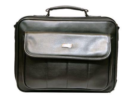 lugage: Case isolated on white