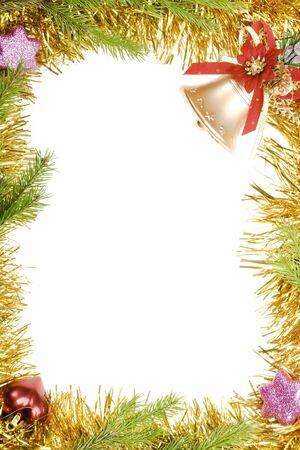 Christmas frame photo