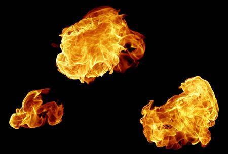 Fire Balls Stock Photo - 4095885