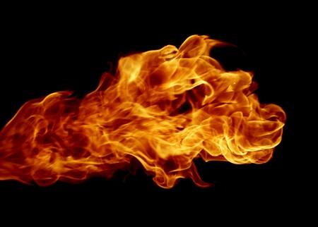 Fire Like a Dog Head Stock Photo - 4066309