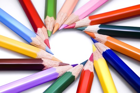 Color pencils Stock Photo - 4197337