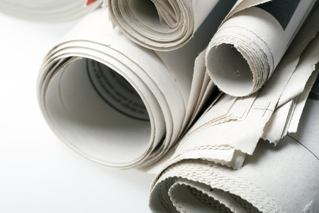 publishes: newspaper close-up
