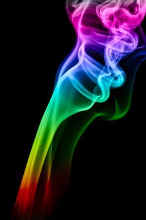 colored background: Smoke