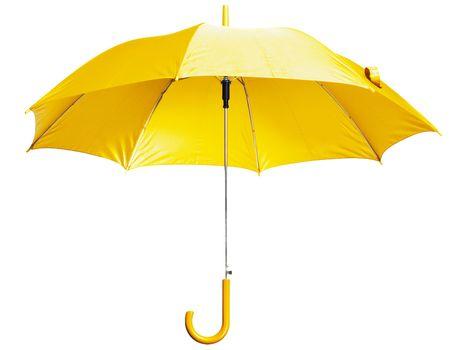 yellow umbrella: Bright Yellow Umbrella