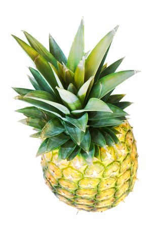 Pineapple isolated on white background. photo