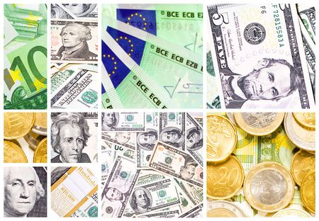 money collage photo