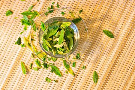 Green tea concept Stock Photo - 5388892