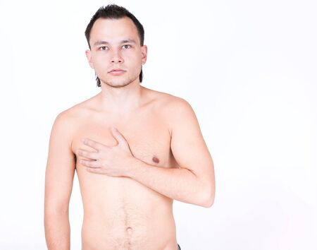 Young naked male model Stock Photo - 5484303