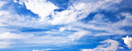 Background of bright blue sky. Stock Photo - 5581504
