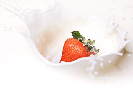 Strawberry and Cream  Banque d'images