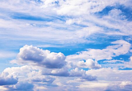 Background of bright blue sky. Stock Photo - 6034992