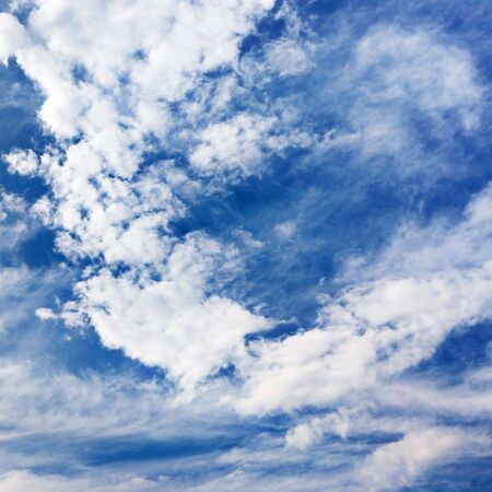 Background of bright blue sky. Stock Photo - 6034593