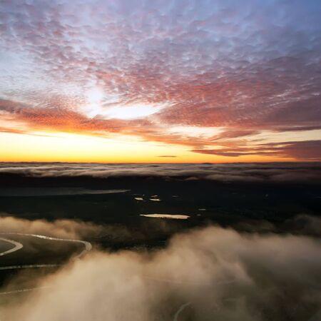 Sky landscape photo