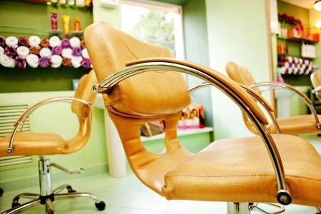 Interior of Beauty Salon photo
