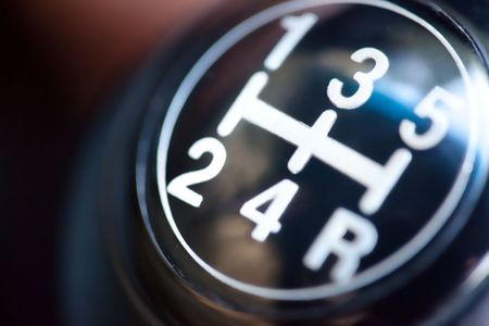 gear stick (shallow DoF) photo