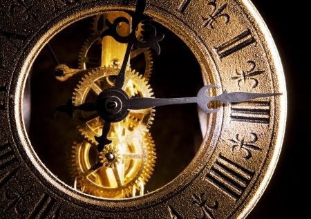 reloj antiguo: Reloj antiguo close up vista