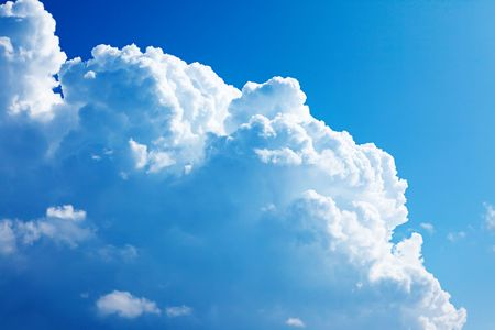 Background of sky. Stock Photo - 6390064