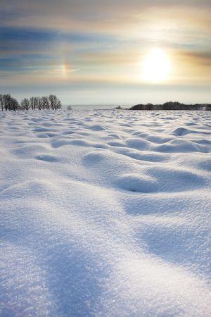 Winter landscape Zdjęcie Seryjne