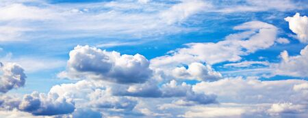 Background of bright blue sky. Stock Photo - 6639320