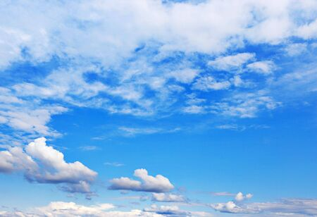 Background of bright blue sky. Stock Photo - 6639467